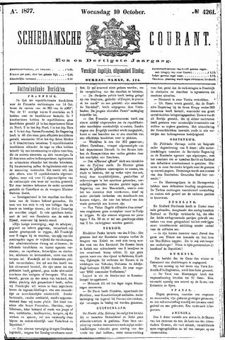 Schiedamsche Courant 1877-10-10