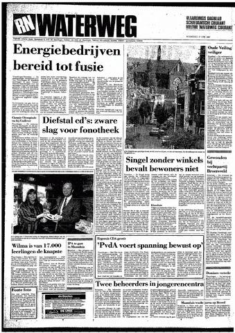 Rotterdamsch Nieuwsblad / Schiedamsche Courant / Rotterdams Dagblad / Waterweg / Algemeen Dagblad 1987-06-17