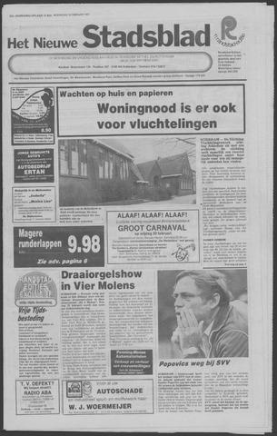 Het Nieuwe Stadsblad 1981-02-18