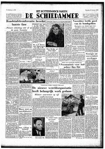 Rotterdamsch Parool / De Schiedammer 1949-10-22