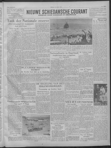 Nieuwe Schiedamsche Courant 1949-07-29