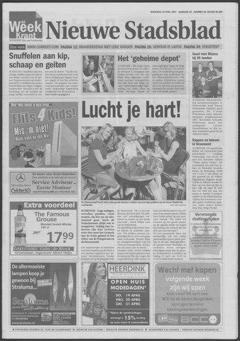 Het Nieuwe Stadsblad 2007-04-18