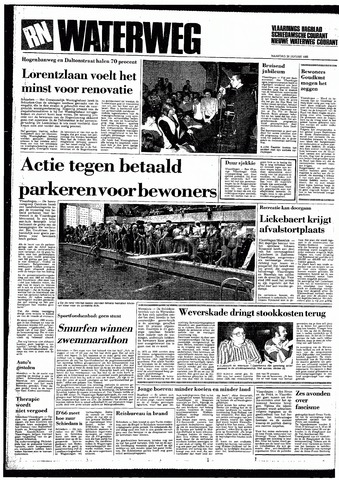 Rotterdamsch Nieuwsblad / Schiedamsche Courant / Rotterdams Dagblad / Waterweg / Algemeen Dagblad 1985-01-28