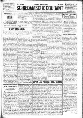 Schiedamsche Courant 1927-05-24