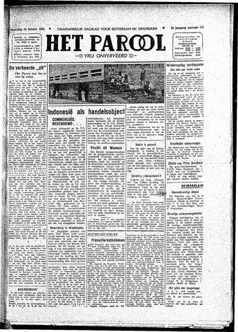 Rotterdamsch Parool / De Schiedammer 1945-10-24
