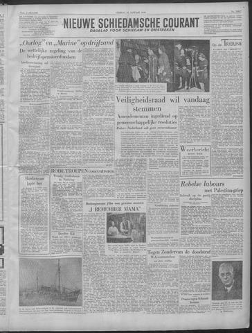 Nieuwe Schiedamsche Courant 1949-01-28