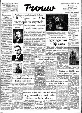 Trouw / De Rotterdammer 1956-01-19