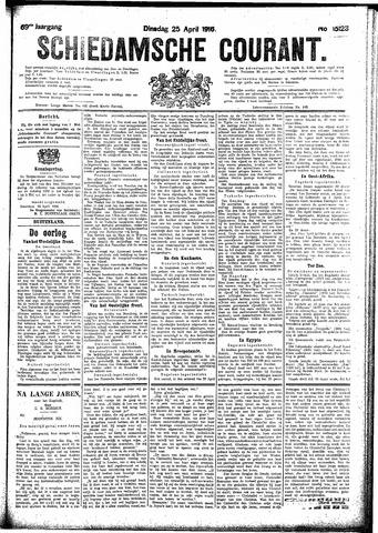 Schiedamsche Courant 1916-04-25