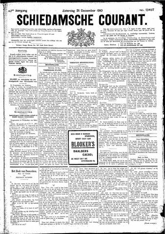 Schiedamsche Courant 1910-12-31