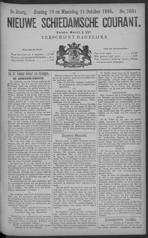 Nieuwe Schiedamsche Courant 1886-10-11