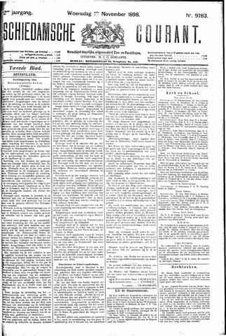 Schiedamsche Courant 1898-11-16