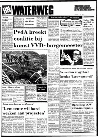 Rotterdamsch Nieuwsblad / Schiedamsche Courant / Rotterdams Dagblad / Waterweg / Algemeen Dagblad 1983-05-17