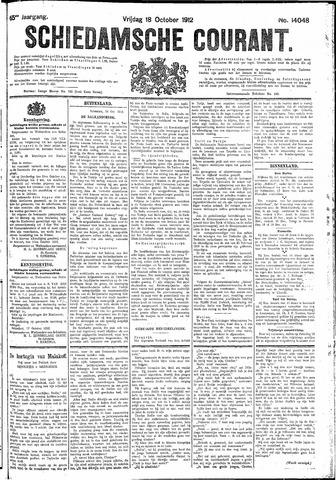 Schiedamsche Courant 1912-10-18