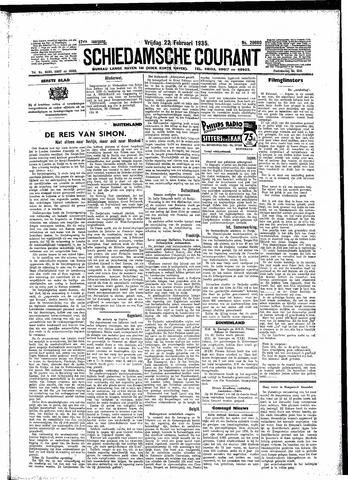 Schiedamsche Courant 1935-02-22