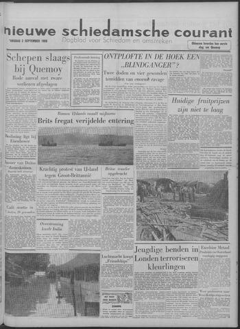 Nieuwe Schiedamsche Courant 1958-09-02