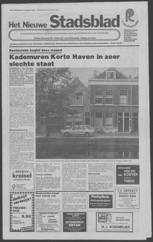 Het Nieuwe Stadsblad 1981-08-05