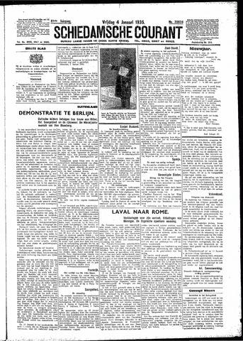 Schiedamsche Courant 1935-01-04