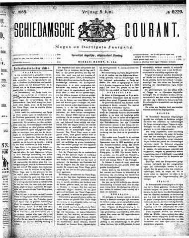 Schiedamsche Courant 1885-06-05