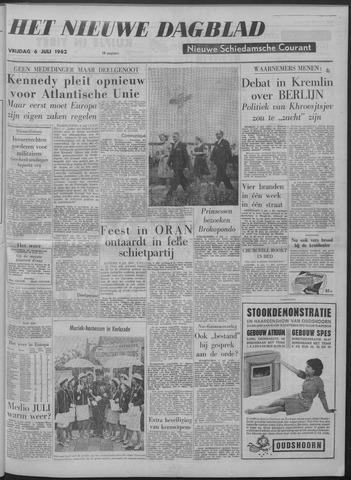 Nieuwe Schiedamsche Courant 1962-07-06