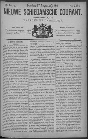 Nieuwe Schiedamsche Courant 1886-08-17