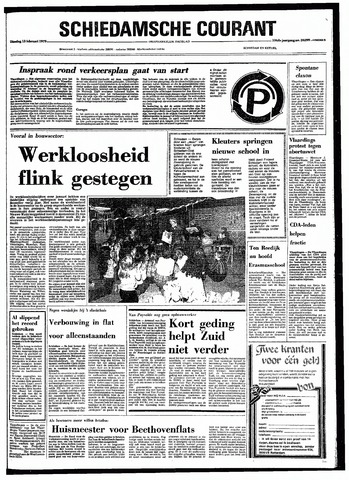 Rotterdamsch Nieuwsblad / Schiedamsche Courant / Rotterdams Dagblad / Waterweg / Algemeen Dagblad 1979-02-13