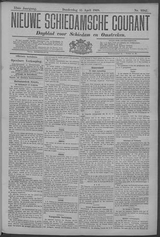Nieuwe Schiedamsche Courant 1909-04-15