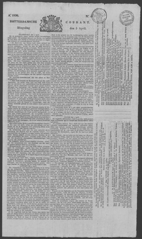 Rotterdamse Courant 1836-04-05