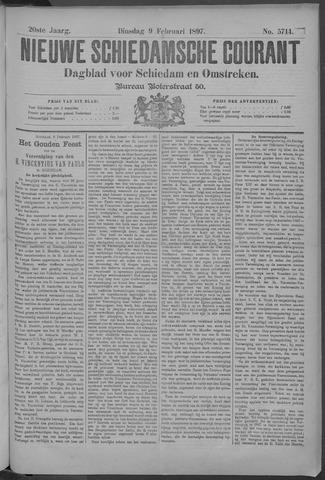 Nieuwe Schiedamsche Courant 1897-02-09