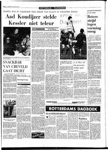 Rotterdamsch Parool / De Schiedammer 1970-11-05