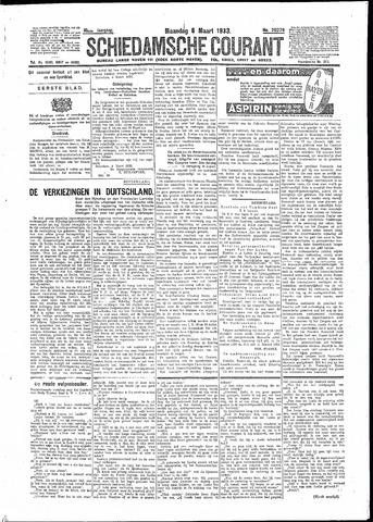 Schiedamsche Courant 1933-03-06
