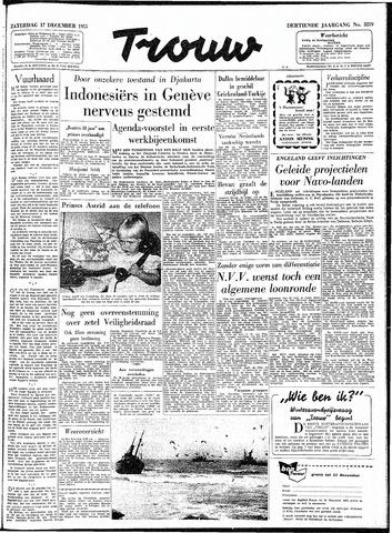 Trouw / De Rotterdammer 1955-12-17
