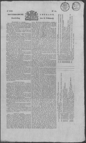 Rotterdamse Courant 1836-02-11