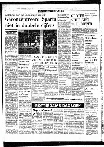 Rotterdamsch Parool / De Schiedammer 1970-09-30
