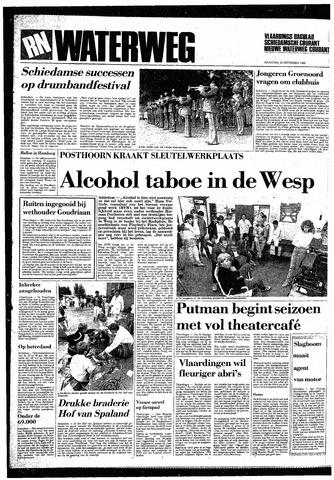 Rotterdamsch Nieuwsblad / Schiedamsche Courant / Rotterdams Dagblad / Waterweg / Algemeen Dagblad 1985-09-16