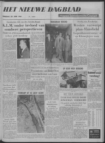 Nieuwe Schiedamsche Courant 1961-06-20