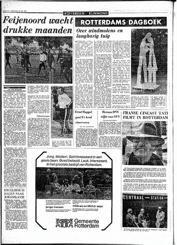 Rotterdamsch Parool / De Schiedammer 1970-07-16