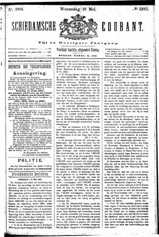 Schiedamsche Courant 1881-05-18