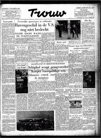 Trouw / De Rotterdammer 1953-10-03
