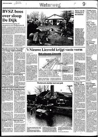 Rotterdamsch Nieuwsblad / Schiedamsche Courant / Rotterdams Dagblad / Waterweg / Algemeen Dagblad 1991-04-08