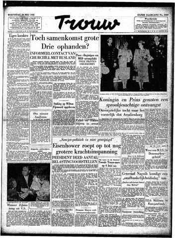 Trouw / De Rotterdammer 1953-05-20