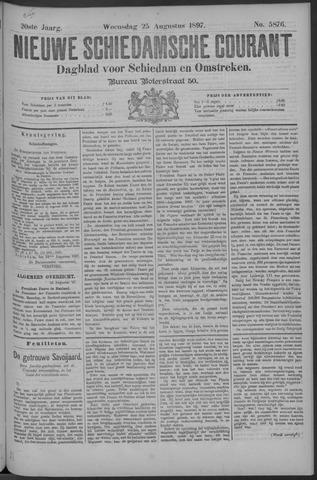 Nieuwe Schiedamsche Courant 1897-08-25