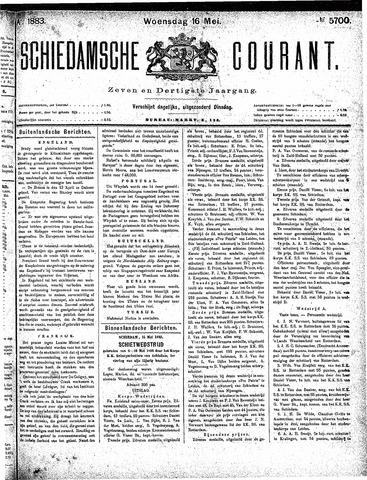 Schiedamsche Courant 1883-05-16