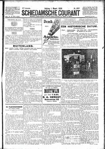 Schiedamsche Courant 1929-03-01