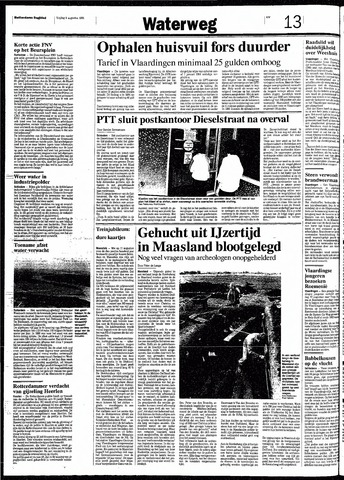 Rotterdamsch Nieuwsblad / Schiedamsche Courant / Rotterdams Dagblad / Waterweg / Algemeen Dagblad 1991-08-09
