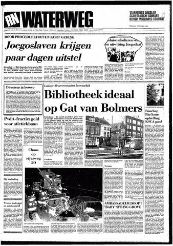 Rotterdamsch Nieuwsblad / Schiedamsche Courant / Rotterdams Dagblad / Waterweg / Algemeen Dagblad 1985-11-08