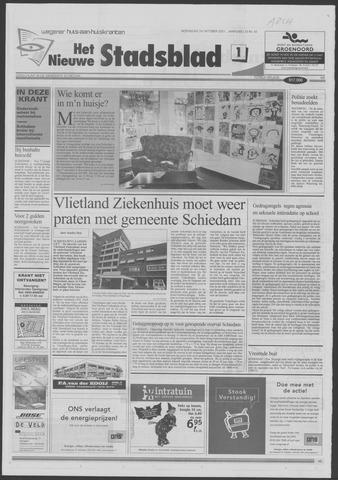 Het Nieuwe Stadsblad 2001-10-24