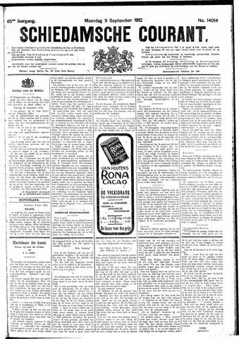 Schiedamsche Courant 1912-09-09