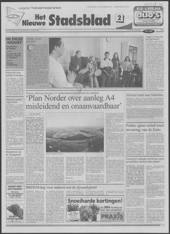 Het Nieuwe Stadsblad 2001-09-27