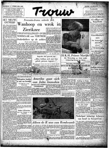 Trouw / De Rotterdammer 1953-02-17