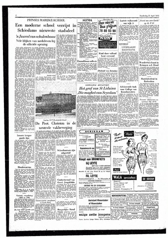 Rotterdamsch Parool / De Schiedammer 1955-04-21